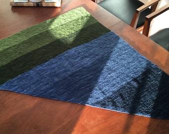 Gradient Triangle Shawl