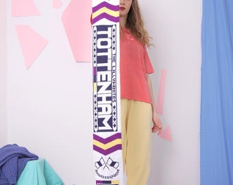 tottenham football scarf, the lillywhites slogan scarf, letters club team sport scarf muffler