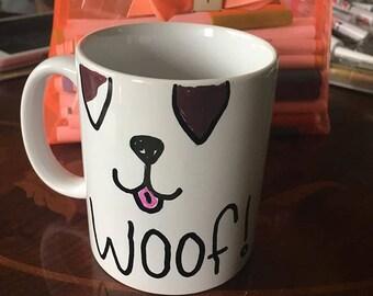 Handmade dog mug