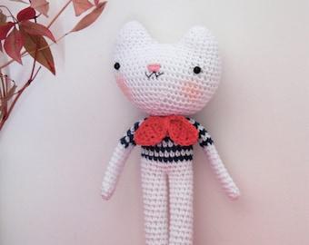 The kitten crochet Alphonso