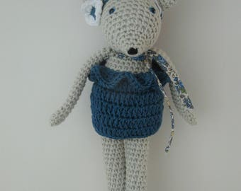 Rosie the little mouse crochet