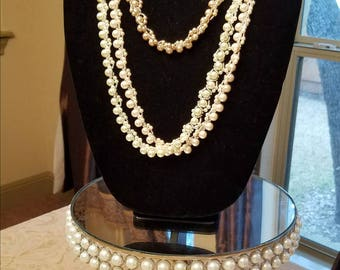 Pearl Icing Necklaces