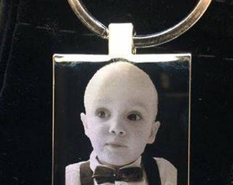 Keyring rectangle with FREE Personalised Engraving