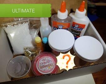 DIY SLIME KIT with a Sample Slime and more!
