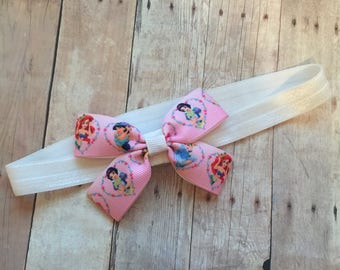 Disney Princess Headband, Baby Bow, Disney Bow