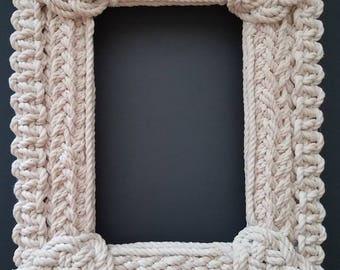 Nautical Knotwork Frame