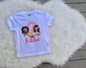 Moana birthday shirt, moana shirt, custom moana shirt, im three shirt, birthday shirt, maui shirt, moana movie shirt, moana kids shirt