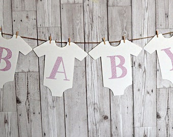 Baby bunting/garland - Baby shower decoration - New baby