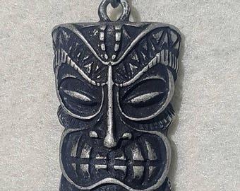 Tiki Statue Pendant