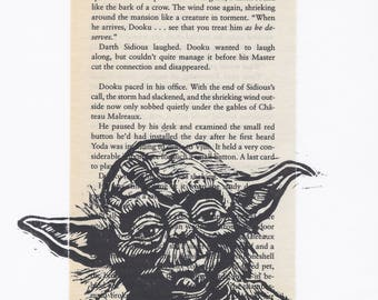 Yoda + Book page