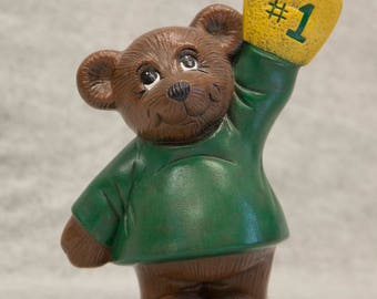 Hand-Painted Ceramic #1 Bear