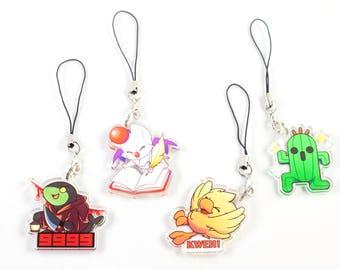 Final Fantasy Mascot Keychain Charm