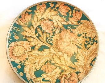 Floral Charger Plate/Large Decorative Charger Plate/Vintage Decor Charger Plate/Boho Charger Plate/Boho Pattern/Vintage Boho Charger Plate