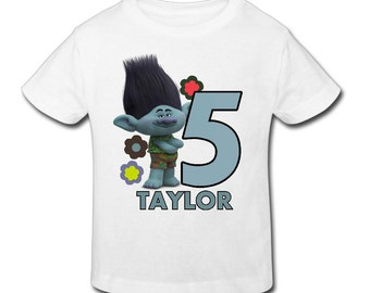Trolls t shirt etsy for Custom shirts fast delivery