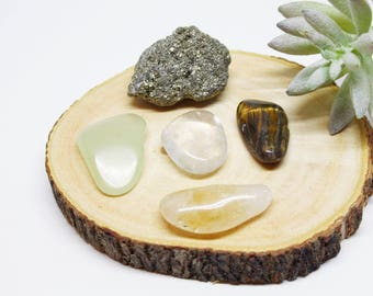 Wealth and Abundance Crystal Set