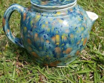 Handmade Ceramic Teapot and Teacup