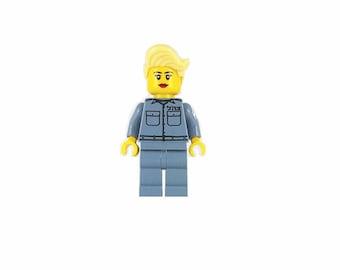 Female IDF Mini-Figure Border Patrol - Israeli Defense Force - Jewish Custom Lego® Set from JBrick
