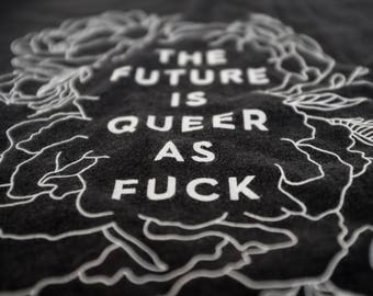 The Future is Queer as Fuck! [Unisex Triblend Tshirt]