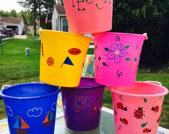 Personalized Children Pails