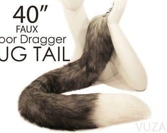 tail butt plug - fox tail butt plug - EXCLUSIVE TUG TAIL - butt plug – bdsm - tail plug - sex toys - fox tail plug - butt plug tail – mature