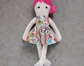 Modern Cloth Doll - Marley