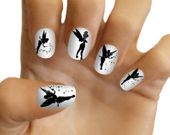 Disney Nail Decals Tinker Bell Nail Art