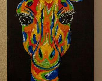 Colorful Giraffe 2