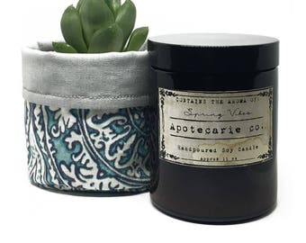 Spring Vibes | Handmade Scented Soy Candle
