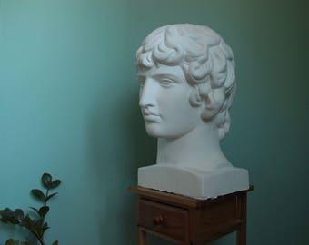 Antinous sculpture bust