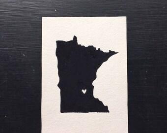 Minnesota Love Painting