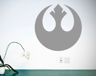 Rebel Alliance Wall Sticker Vinyl Decal, Star Wars