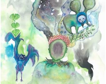 Dreamscape - Original Print