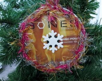 Bones Christmas Ornament Upcycled TV Show DVD #9