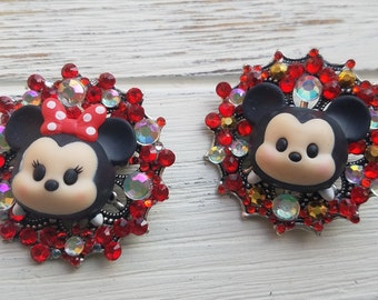 Mickey/Minnie Mouse Brooch