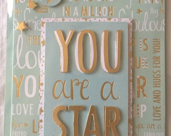 You are a Star Forever Friends Card