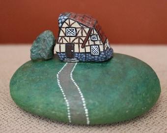 Miniature Rock House