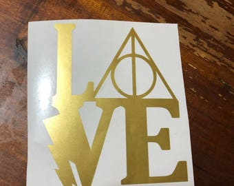 Harry Potter Inspired Decals