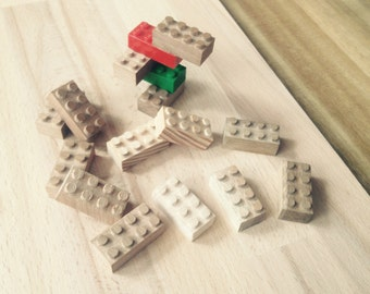 Wooden building blocks - Legocompatible