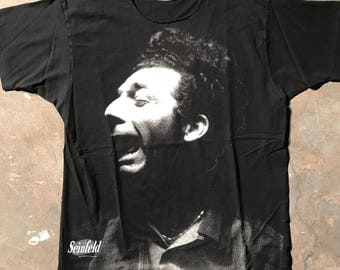 Vintage 90s Seinfeld 'the Scream' Kramer Shirt, size XL