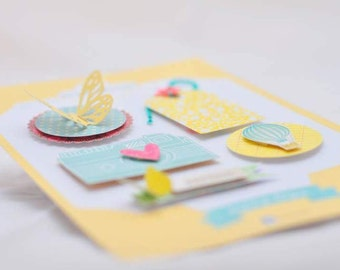 SUNNY DAYS 3D stickers