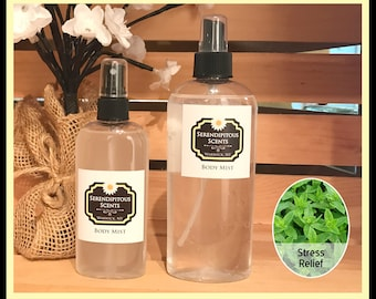 Stress Relief Body Mist Stress Relief All Natural Body Mist Stress Relief Body Spray Stress Relief Room Spray Stress Relief Linen Spray