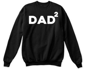 Dad 2 tshirt, dad 2 shirt, dad of two tshirt, fathers day shirt, dad 2 sweatshirt, funny dad shirt, dad of twin shirt, fathers day gift, dad