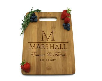 Personalized Cheese Board, Cutting Board, Cheese Board,  Anniversary Gift - PTHB007