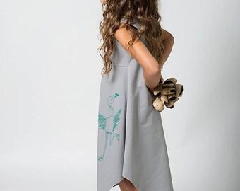 Girls dress,  Grey dress, Childrens clothing, Girls dresses, Printed dress, Childrens clothing boutique, Childrens clothing girls