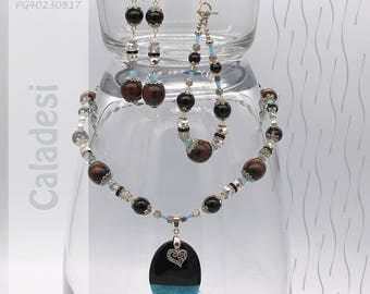 Jewelry Set | Necklace, Bracelet, Earrings | Caladesi PG40230817