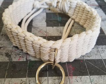 Cotton Rope Sub Collar