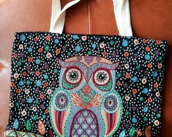 cotton bag 100% - Tote Bag - book bag - book lover - library bag - heavyweight cotton canvas bag - bookworm - hand bag