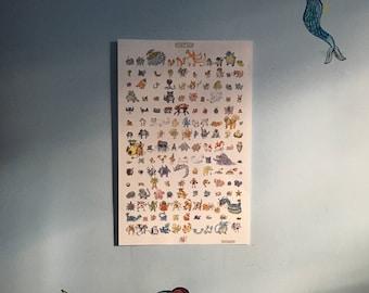 Mutant Mons Poster
