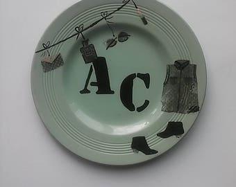 Designed dish AC