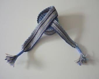 hand woven belt, along 63,8 inch about 1,38 inch linen.